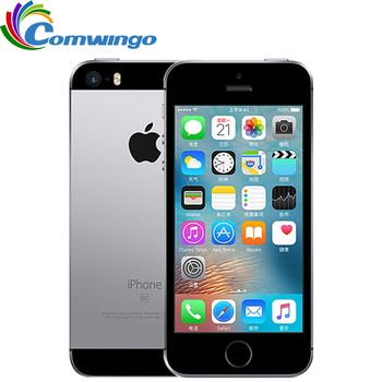 Original Unlocked Apple iPhone SE 2GB RAM 16G/32G/64GB ROM Mobiltelefon A9 iOS 9 Dual Core 4G LTE 4.0