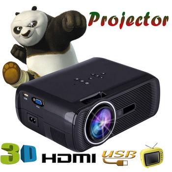 WZATCO 1800lm Bærbare Pico-LED-mini-HDMI-Video-Game-TV Android 4.4 WIFI Projektor Lomme Home Cinema Projetor Proyector Beamer